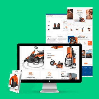 Creación de páginas web para Pymes - Páginas web corporativas
