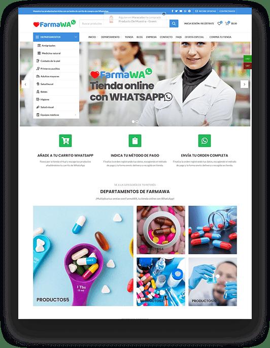Tienda virtual - Farmacia - Droguería online