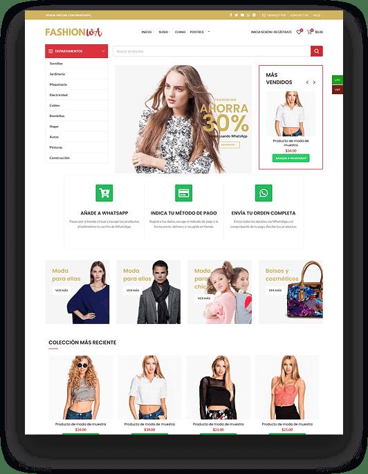 Tienda virtual - Tienda online de ropa - Tienda de moda